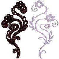 CRAFTS TOO - Дизайн щанца за рязане 14 x 7.5 cm.