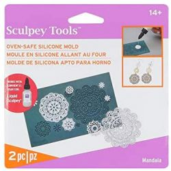 MOLD SCULPEY, USA - Силиконова форма за течно SCULPEY - MANDALA