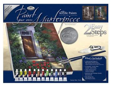PAINTING MASTER SET , USA  -Мастър сет рисуване на платно 350 X 280mm * SET2