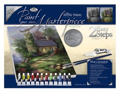 PAINTING MASTER SET ,USA - Мастър сет рисуване на платно 350  x 280mm * SET14