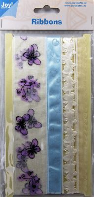 Joy Crafts LUX Ribbons - Ширити 3 х 1 м. - 6300-0302