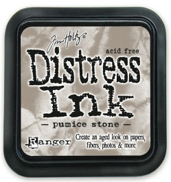"Distress ink pad by Tim Holtz - Тампон, ""Дистрес"" техника - Pumice stone"