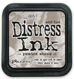 "Distress ink pad by Tim Holtz - Тампон, ""Дистрес"" техника - Pumice stone"