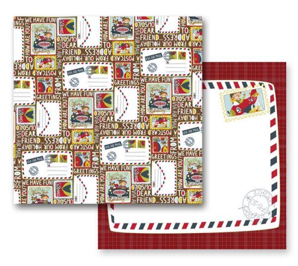 ScrapArt - Дизайнерски скрапбукинг картон 30,5 х 30,5 см. - ОФЕРТА