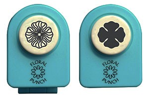 Nellie Snellen Small SET -Комплект ембос пънч + пънч FLP047 - 1,5 cm.