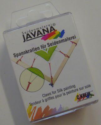 JAVANA CLAWS - Опъвачи за коприна к-кт 24 бр