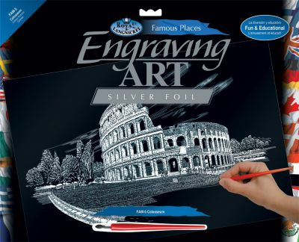 Engraving Art А3 - Картина за гравиране - сребърно фолио