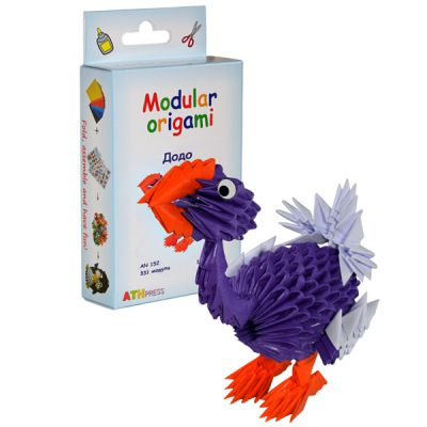 """Комплект Модулно оригами """"Додо"""""""