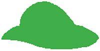 """Крафтърски Пънч """"Дамска шапка""""-25мм"""