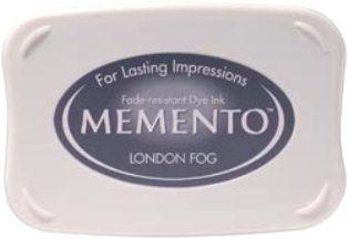 MEMENTO INKPAD - Тампон с ярък отпечатък LONDON FOG