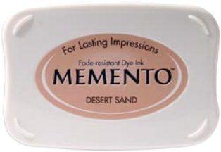 MEMENTO INKPAD - Тампон с ярък отпечатък DESERT SAND