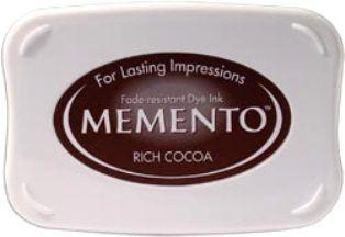 MEMENTO INKPAD - Тампон с ярък отпечатък RICH COCOA