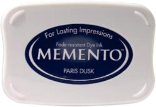 MEMENTO INKPAD - Тампон с ярък отпечатък PARIS DUSK