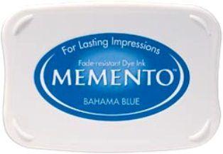 MEMENTO INKPAD - Тампон с ярък отпечатък BAHAMA BLUE
