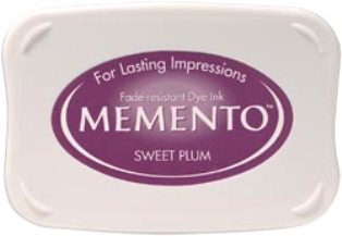 MEMENTO INKPAD - Тампон с ярък отпечатък SWEET PLUM