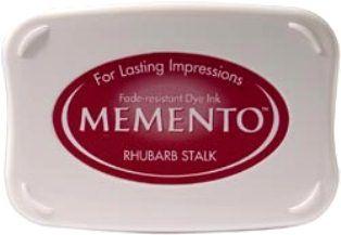 MEMENTO INKPAD - Тампон с ярък отпечатък RHUBARB STALK