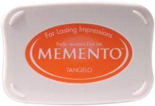 MEMENTO INKPAD - Тампон с ярък отпечатък TANGELO