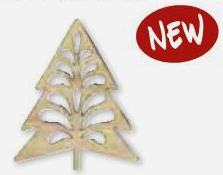 DECO ELEMENTS by Artemio  - Дървени декоративни елемнти 10 см. - 3 бр.