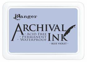 ARCHIVAL INK PAD, USA - Tампон с архивно перманентно мастило, Blue Violet