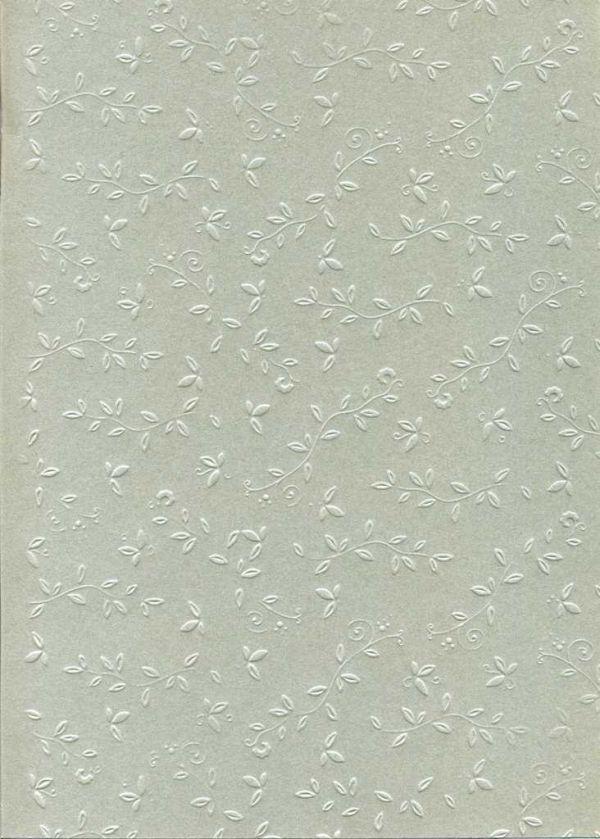 "FB EMBOSS CARD - Преге картон 230гр ""ОРНАМЕНТИ"" 50х70см - Сребро"