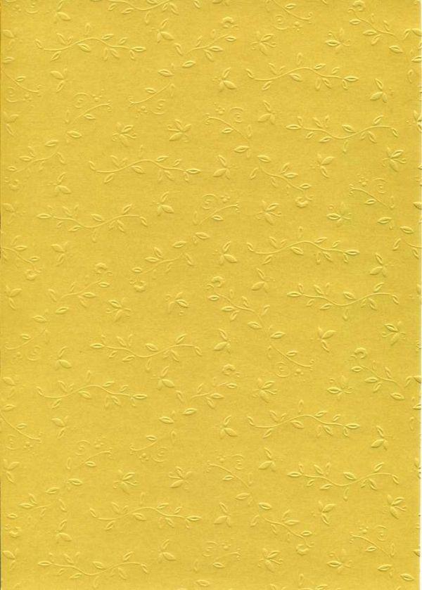 """FB EMBOSS CARD - Преге картон 230гр """"ОРНАМЕНТИ"""" 50х70см - Злато"""