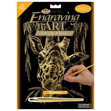 R&L,USA Engraving Art А4 - Картина за гравиране -Gold
