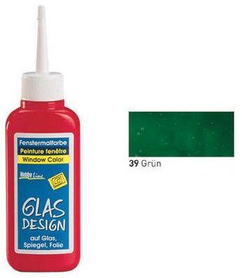 GLAS DESIGN WINDOW COLOR  - Структурна боя за стъкло ЗЕЛЕНА