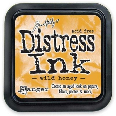 "Distress ink pad by Tim Holtz - Тампон, ""Дистрес"" техника - Wild honey"