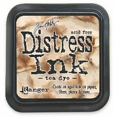 DISTRESS тампон - Tea dye