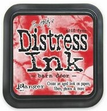 "Distress ink pad by Tim Holtz - Тампон, ""Дистрес"" техника - Barn door"