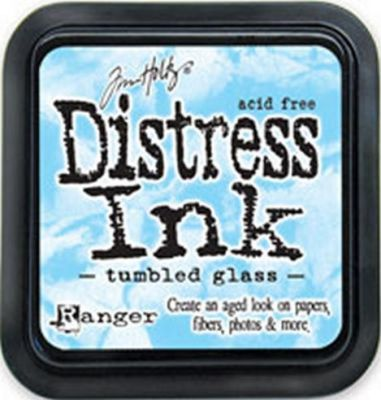 DISTRESS тампон - Tumbled glass