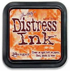 "Distress ink pad by Tim Holtz - Тампон, ""Дистрес"" техника - Spiced marmalade"