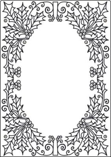 Crafts TOO Embossing Folder - Папка за релеф  А4 / cta4011