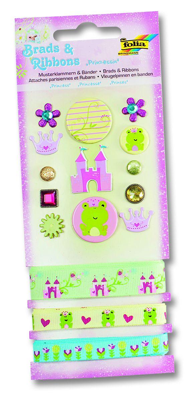 BRADS & RIBBONS - Комплект брадс и ширити /панделки/, Designer Collection