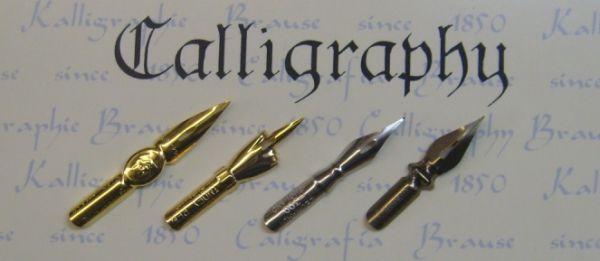 CALLIGRAPHY NIBS - Комплект английски калиграфски пера SET2