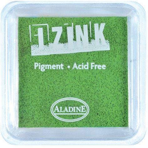 IZINK PAD PIGMENT - Среден тампон 4х4см  - LEMON GREEN
