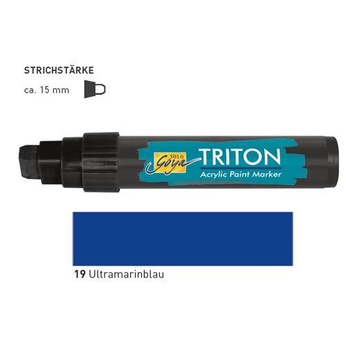 TRITON ACRYLIC MARKER 5-15MM -  Акрилен маркер ULTRAMARINE