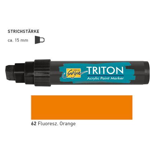TRITON ACRYLIC MARKER 5-15MM -  Акрилен маркер FLUO ORANGE