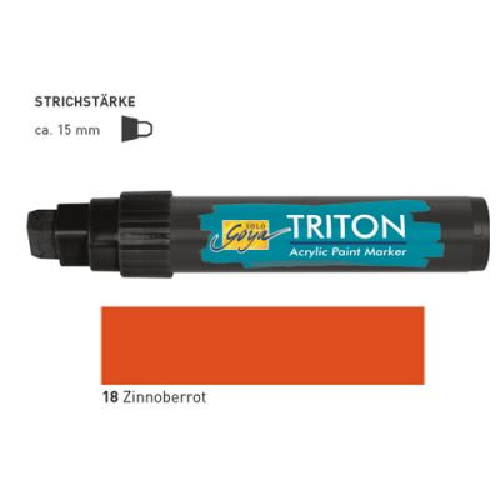 TRITON ACRYLIC MARKER 5-15MM -  Акрилен маркер ZINOBER