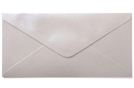 CENTURA ENVELOPES DL England - Перлени пликове 215 Х 115 мм. WHITE