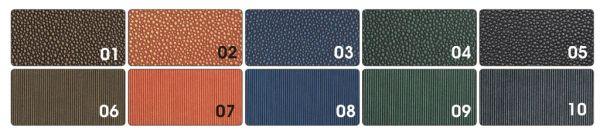 Креативен картон-металик `Droples/Stripes duo`- 50 Х 70 см. пакет 10 цвята