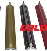 STANDARDGRAPH ALU SCALE RULER 15см - Професионална алуминиева мащабна линия ЗЛАТНА