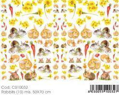 Хартия за декупаж 50Х70 см. made in Italy - ORIGINAL