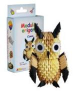 """Комплект Модулно оригами """"Сова"""""""