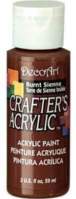 CRAFTERS ACRYLIC USA 59 ml - BURNT SIENNA