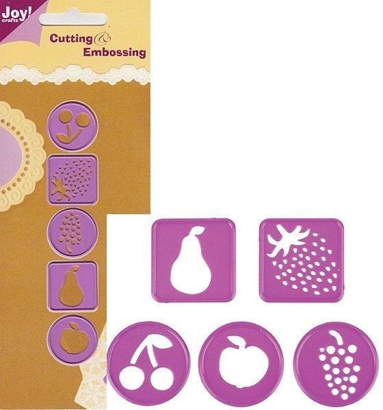 JOY Crafts -Щанца за рязане и ембос 5бр 6002/0076