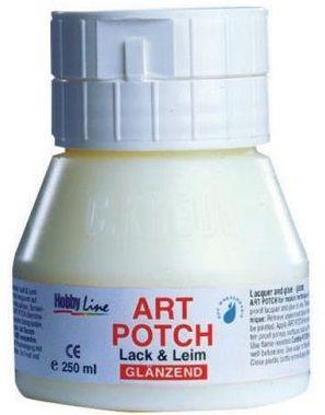 ART POTCH Glanzend - Лак-лепило за салфетна техника  ГЛАНЦ 250 мл.