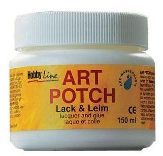 ART POTCH - Лак / лепило за салфетна техника САТЕН 150 мл.