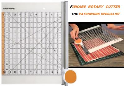 FISKARS ROTARY CUTTER -  PATCHWORK ТРИМЕР
