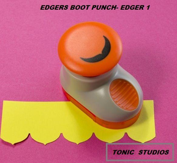 TONIC EDGERS BOOT PUNCH- EDGER 1  -  ПЪНЧ  / БОРДЮР